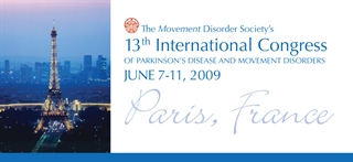 13th International Congress of Parkinson's Disease and Movement Disorders